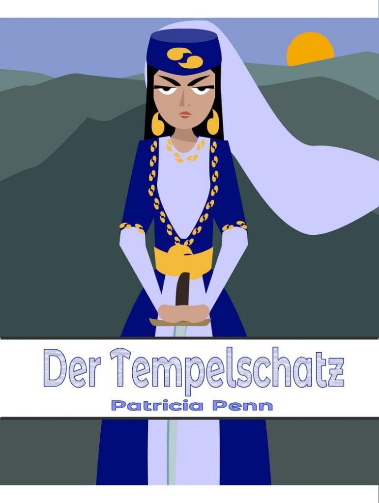 Cover des lesbischen E-Books Der Tempelschatz von Patricia Penn