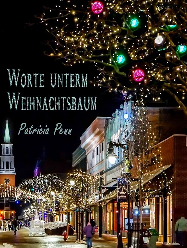 Cover des lesbischen E-Books Worte unterm Weihnachtsbaum von Patricia Penn